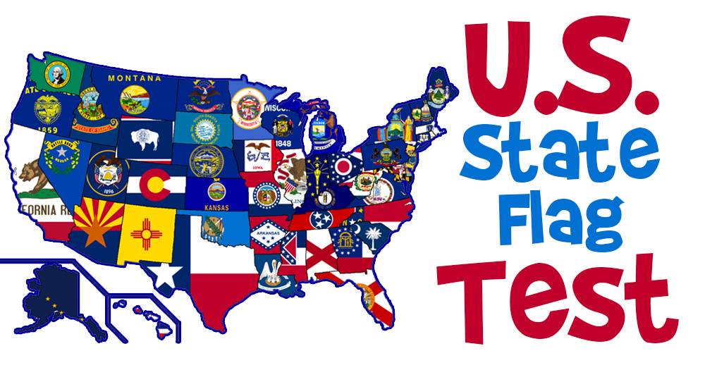 Can You Name All 10 State Flags?