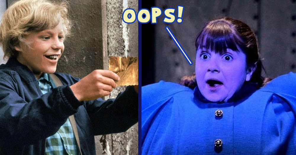 10 Little Known Movie Mistakes In Willy Wonka And The ...